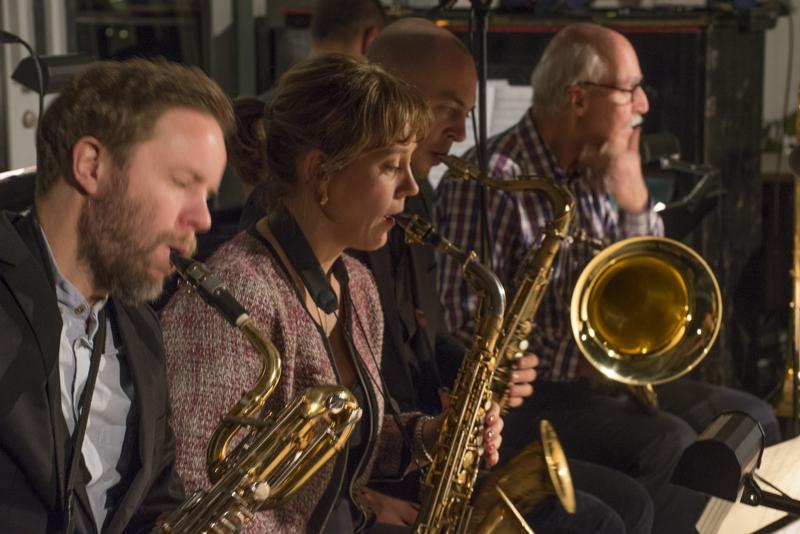 Björn Jansson, Amanda Sedgwick, Klas Toresson och Bertil Strandberg. Foto: Lars Göran Yeudakimchikov-Malmquist